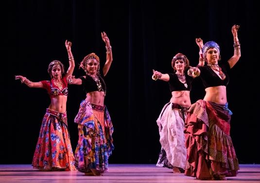 Dança Tribal ATS® Liderança compartilhada Evento Oriental Floripa 2016