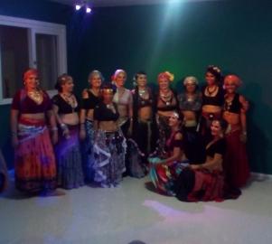 Mulheres que dançaram comigo na Noite de Cultura Especial: Mês da Mulher no Panambi Casa de Cultura e Bem Estar, Março | 2017.